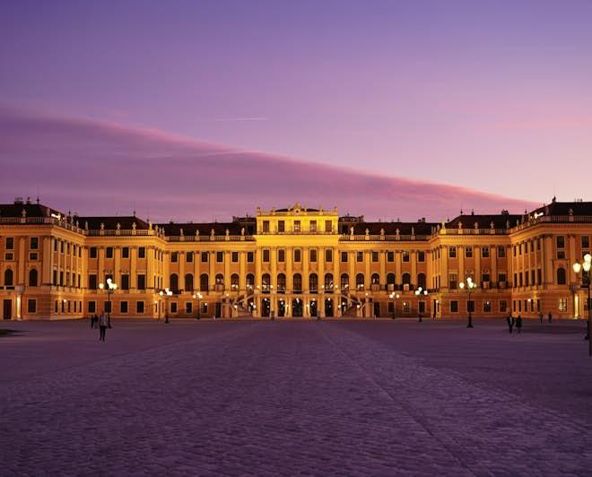 The Schönbrunn Palace, in Vienna