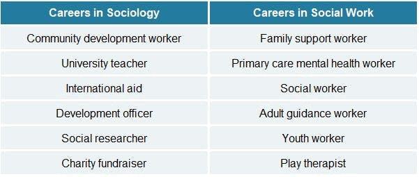 Sociology vs  Social Work: What Bachelor's Degree Is Better