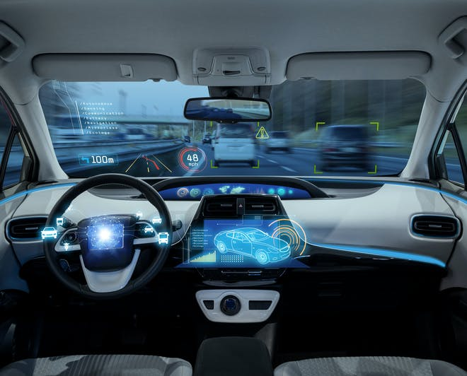 Artificial Intelligence in self-driving car