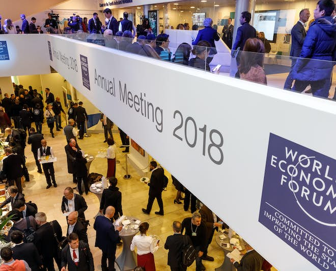The annual meeting of the World Economic Forum
