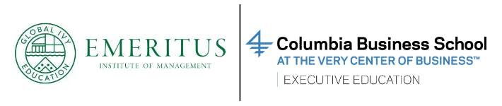 Emeritus Columbia Business School Manhattan United States