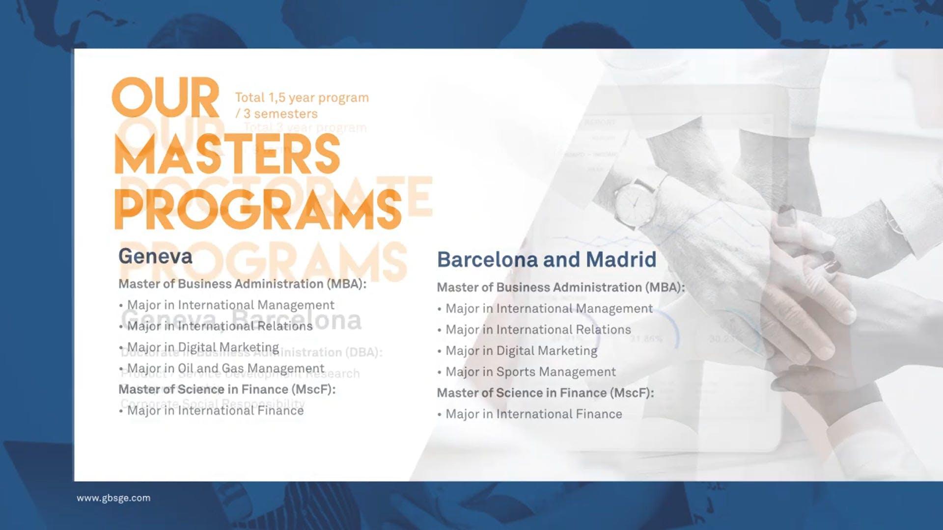 Madrid Campus - Geneva Business School - Madrid - Spain