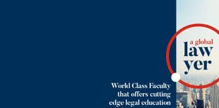 Study cover for Law in a European and Global Context