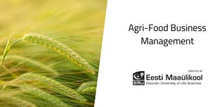 Study cover for Agri-Food Business Management