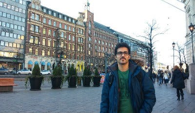 Iman Alikhani studying at University of Oulu.jpg